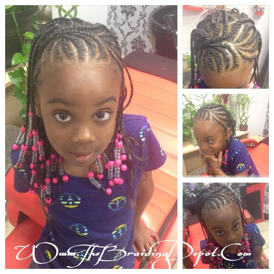Braids And Beads Natural Hair Crowns Kids Little Girl