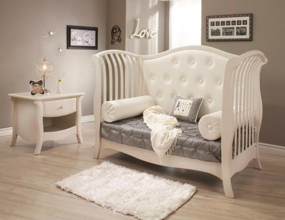 Elegant Safe Baby Cribs, Bella Nursery Furniture from Natart ...