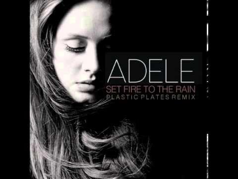 Adele Set Fire To The Rain Plastic Plates Remix Adele Singer
