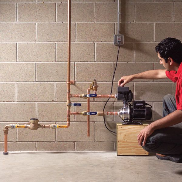 Do You Have Low Water Pressure Even Though The Pipes Are New There Are Several Possible Causes But If Nothing Diy Plumbing Plumbing Home Improvement Projects
