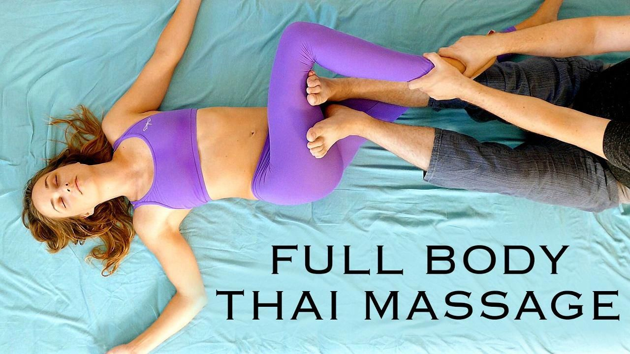 Asian massage pain relief relaxation whom can