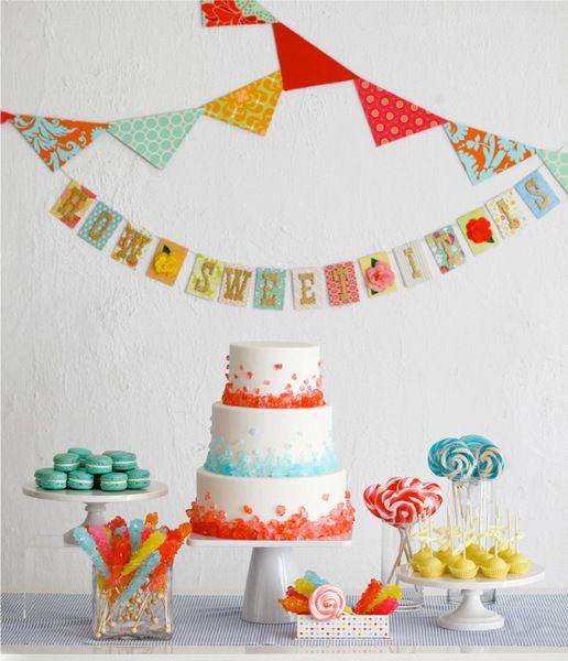 dessert, decor, red, cake, fondant, macaron, round, modern, multi-tier, candy bar, backdrop