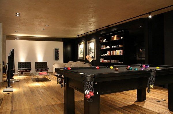pool table bachelor pad furniture ideas modern bachelor pad living