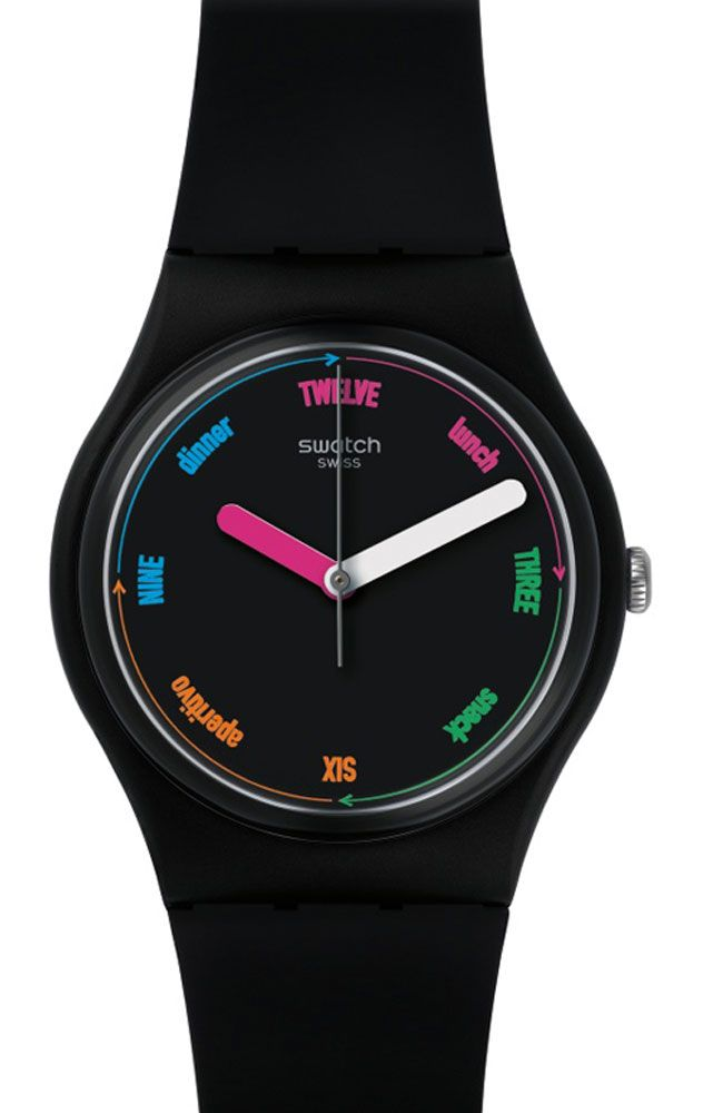 reloj swatch mujer the strapper gb