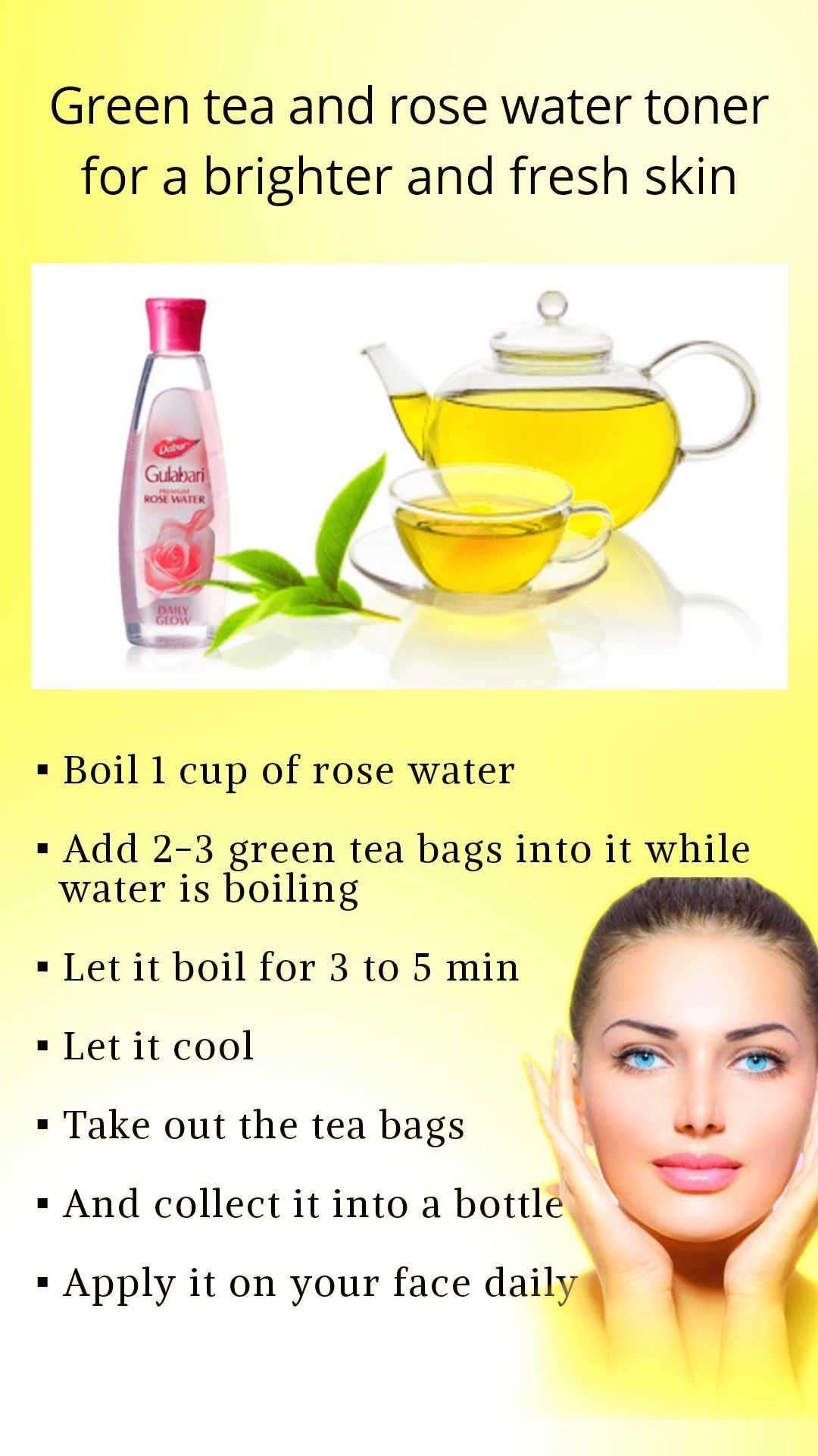 Lets know here How to Use Green Tea on Your Face for