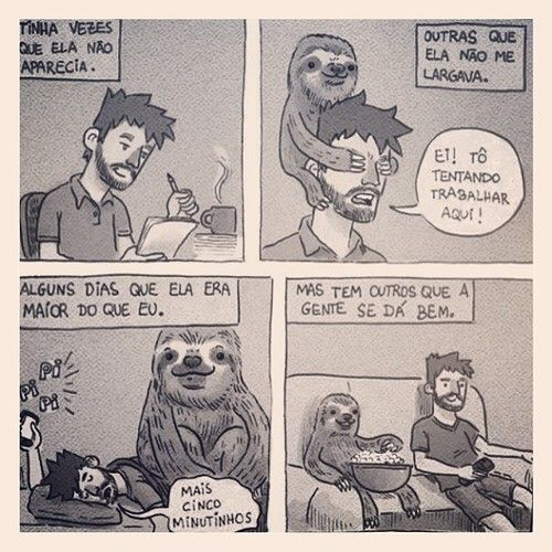 . preguiça