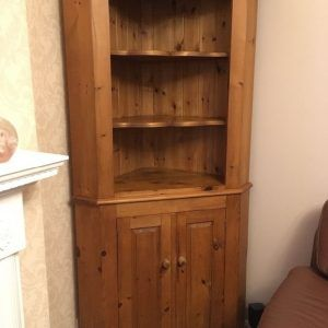 Antique Pine Corner Display Cabinet & Antique Pine Corner Display Cabinet | http://justice4jamesmiller ...