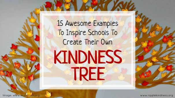 34 Inspiring Kindness Trees Building Character In Schools Kindness Projects Elementary School Projects Conscious Discipline