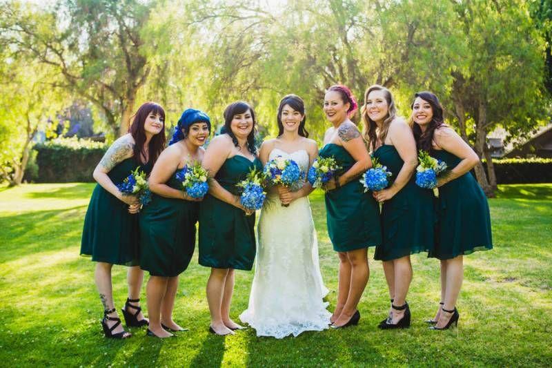 A Beautiful Park Wedding - Inspired Bride