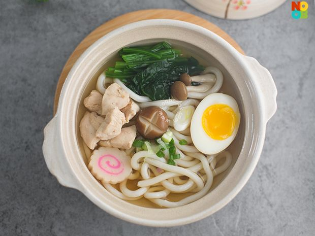 15 Minute Recipe For Chicken Udon Noodle Soup Healthy Delicious And Easy One Dish Meal Chicken Udon Noodles Chicken Udon Noodle Soup Chicken Udon