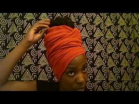 JeysHairWireNC: My Red Headwrap... Get Some - YouTube