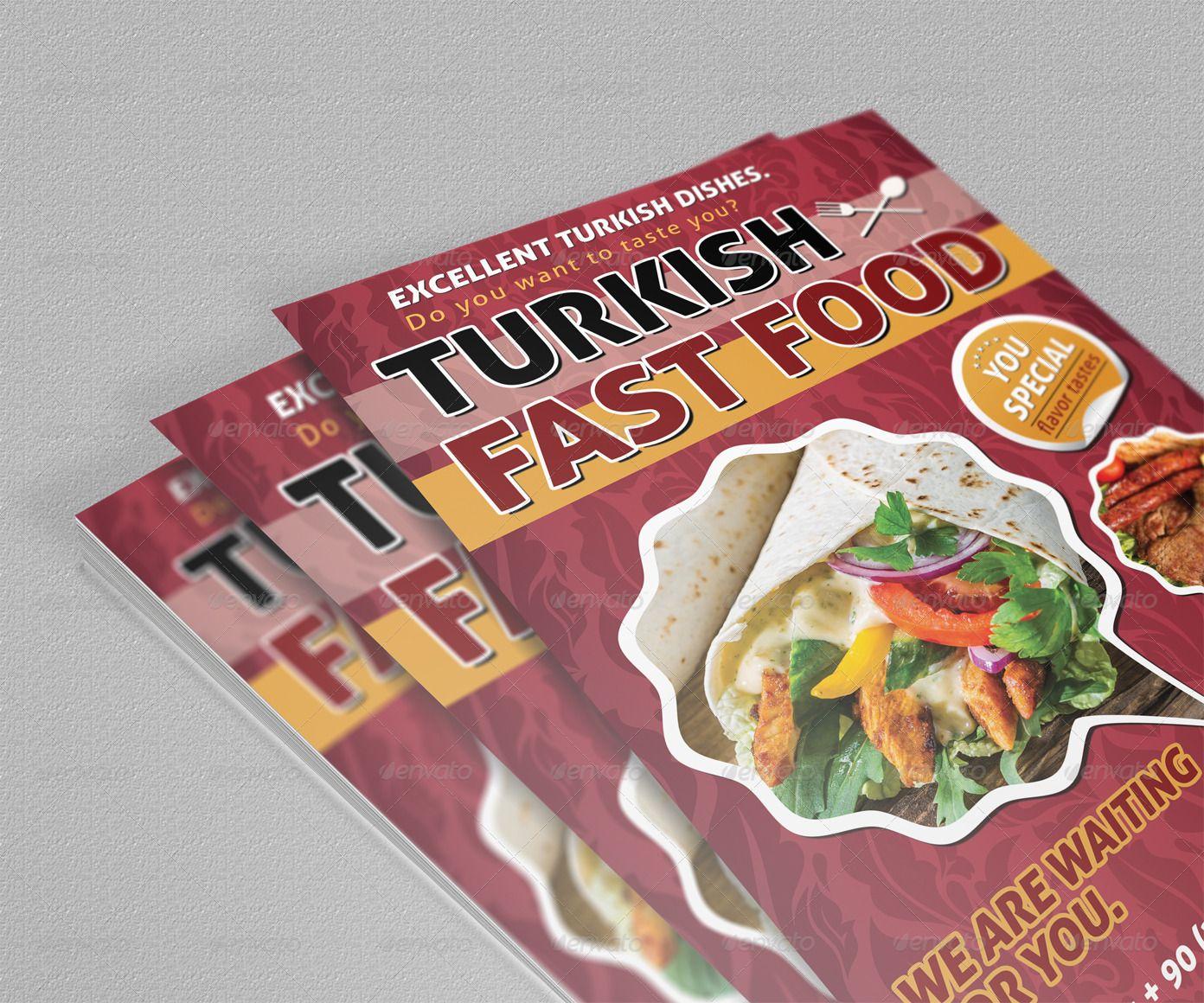 Fast food flyer affiliate fast aff food flyer in