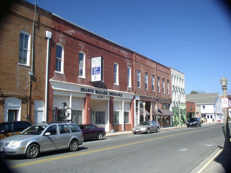 Downtown In The Village Of Onancock On Virginia S Eastern Shore