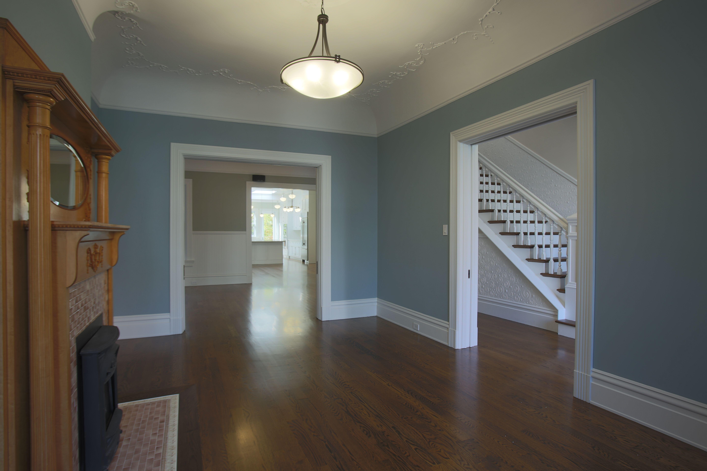 MATERIALS/ FLOOR Hardwood floors/ WALLS Wood panels