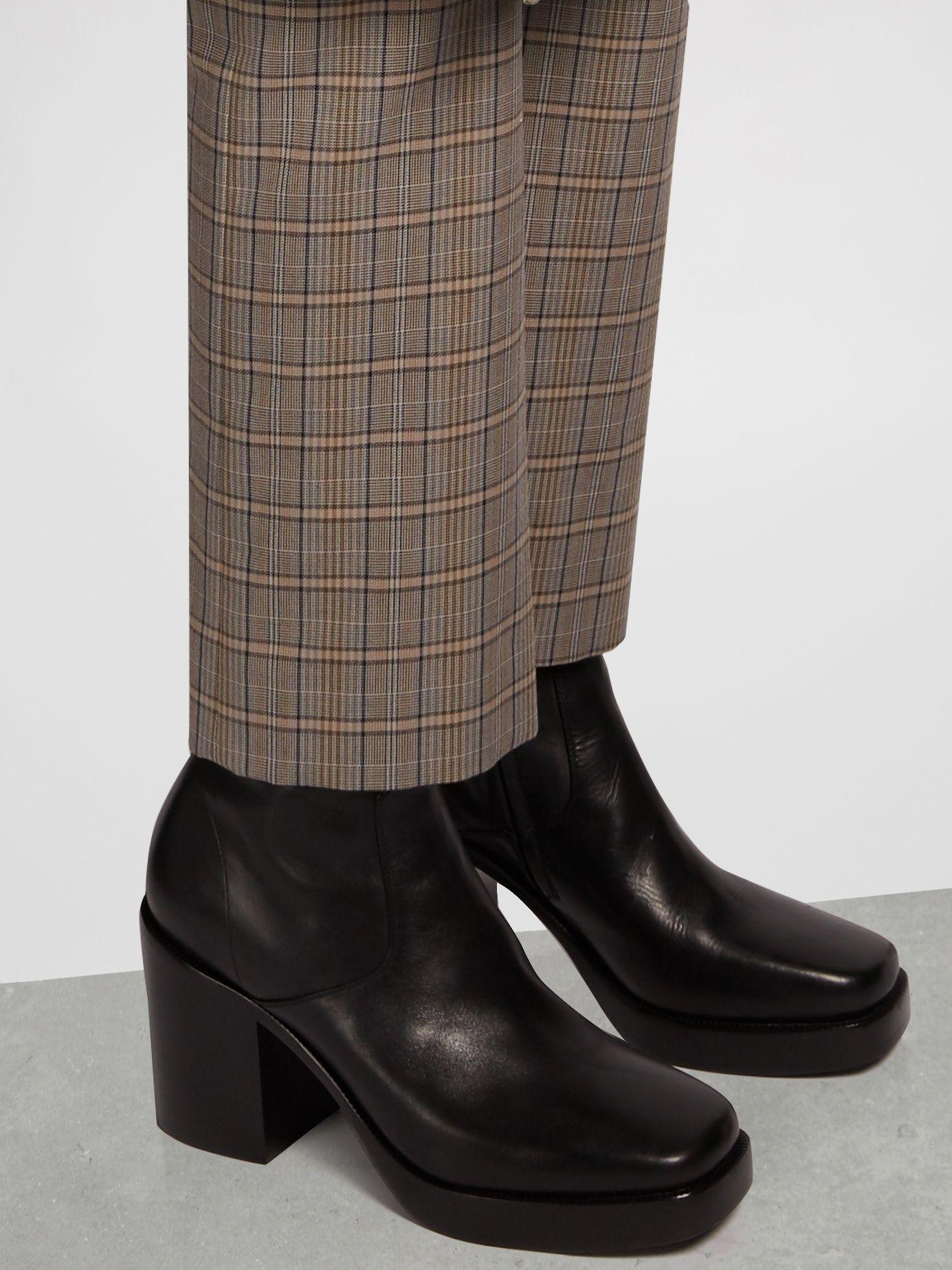 8b0edab0369 Balenciaga Men's Leather Platform Boots | Footwear in 2019 | Boots ...