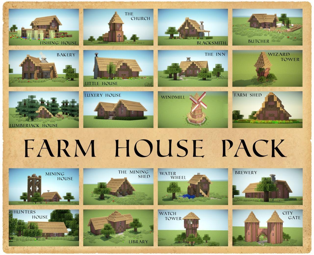 Minecraft farmhouse ideas google search also rh ar pinterest