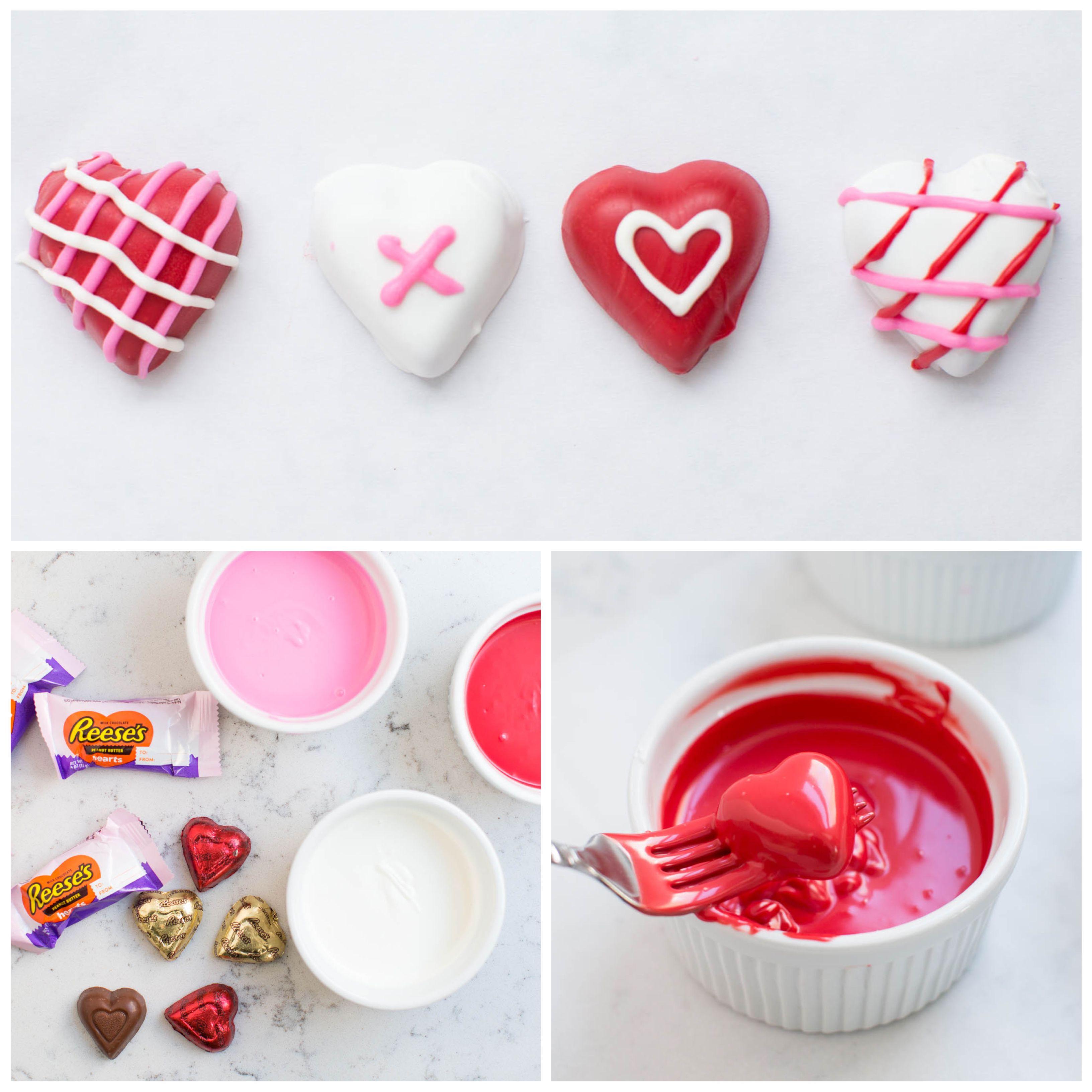 Valentine Chocolate Hearts Recipe School Holiday Pinterest