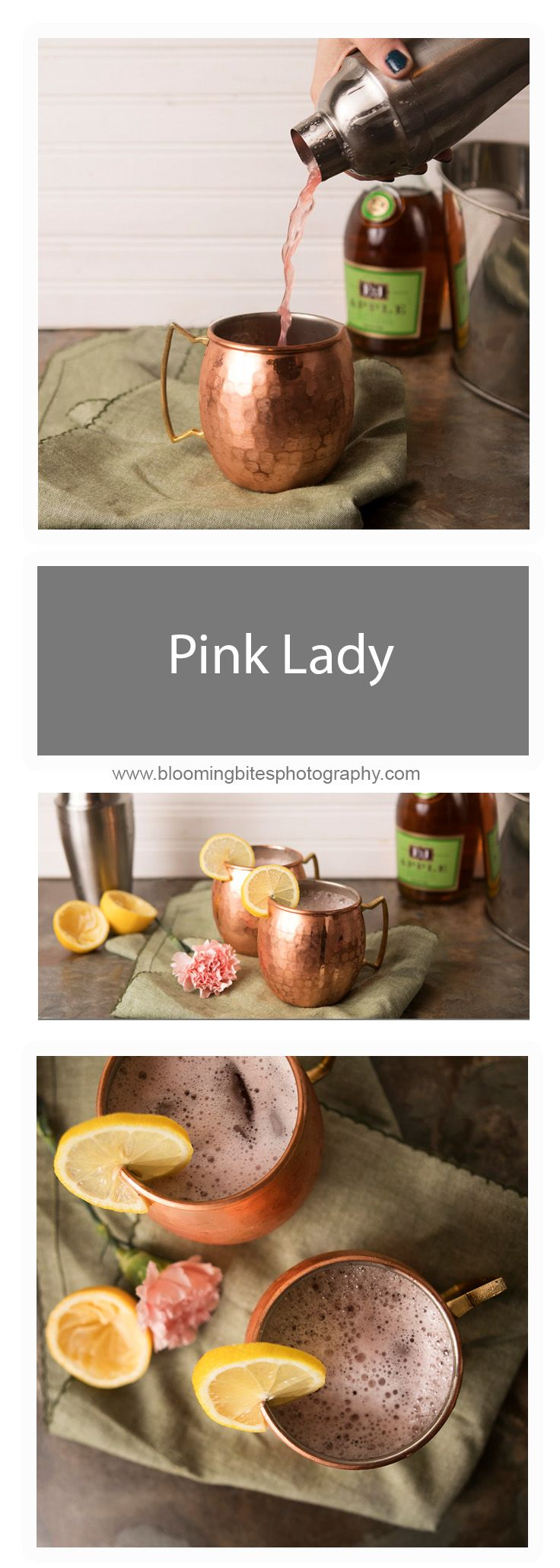 **Giveaway Alert** For a delicious Pink Lady recipe, and instruction on how to win two of these handcrafted high-quality mugs, be sure to follow this post to our blog!