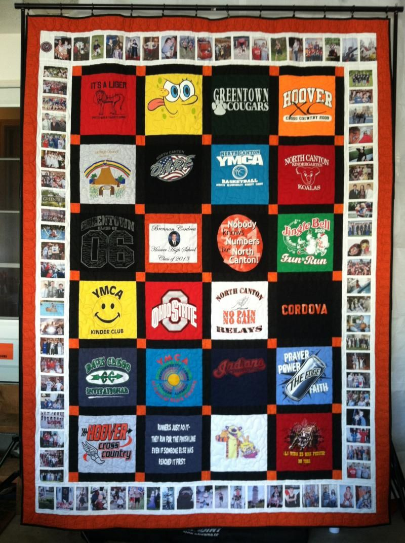 T-shirt quilt design instructions - 1000 Images About Tee Shirt Quilts On Pinterest Quilts Memory Quilts And Shirts