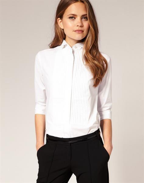 8f1502fa792a Классическая белая рубашка женская | Платье в 2019 г. | Женская ...