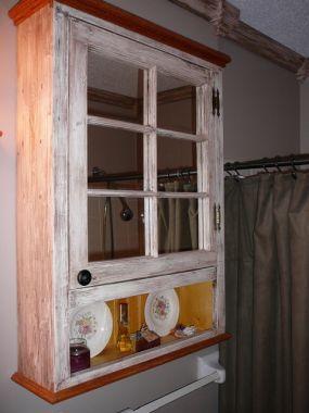 Old Window Medicine Cabinet Junkmarket Style Cabinet