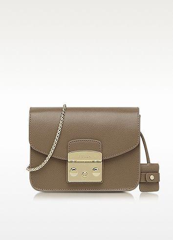 61f39364213 FURLA Metropolis Color Daino Leather Mini Crossbody Bag. #furla ...