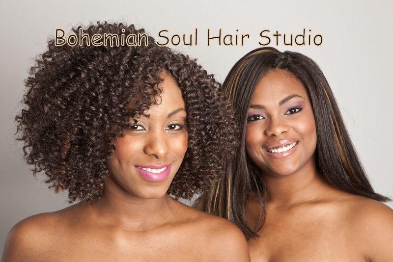 Uptown Curl Meets Bohemian Out Soul Hair Studio
