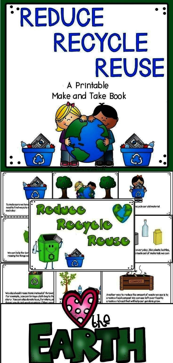 looking for printable Earth Day classroom resources? This printable book is a great resource to use