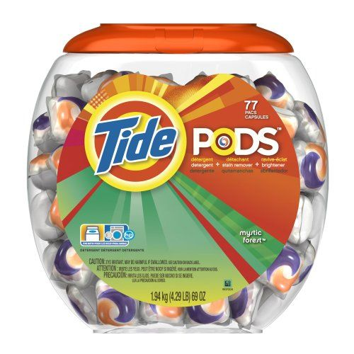 Tide Pods Detergent, Mystic Forest, 69-Ounce, 77-Count