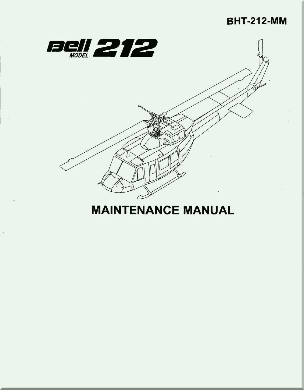 Bell Helicopter 212 Maintenance Manual