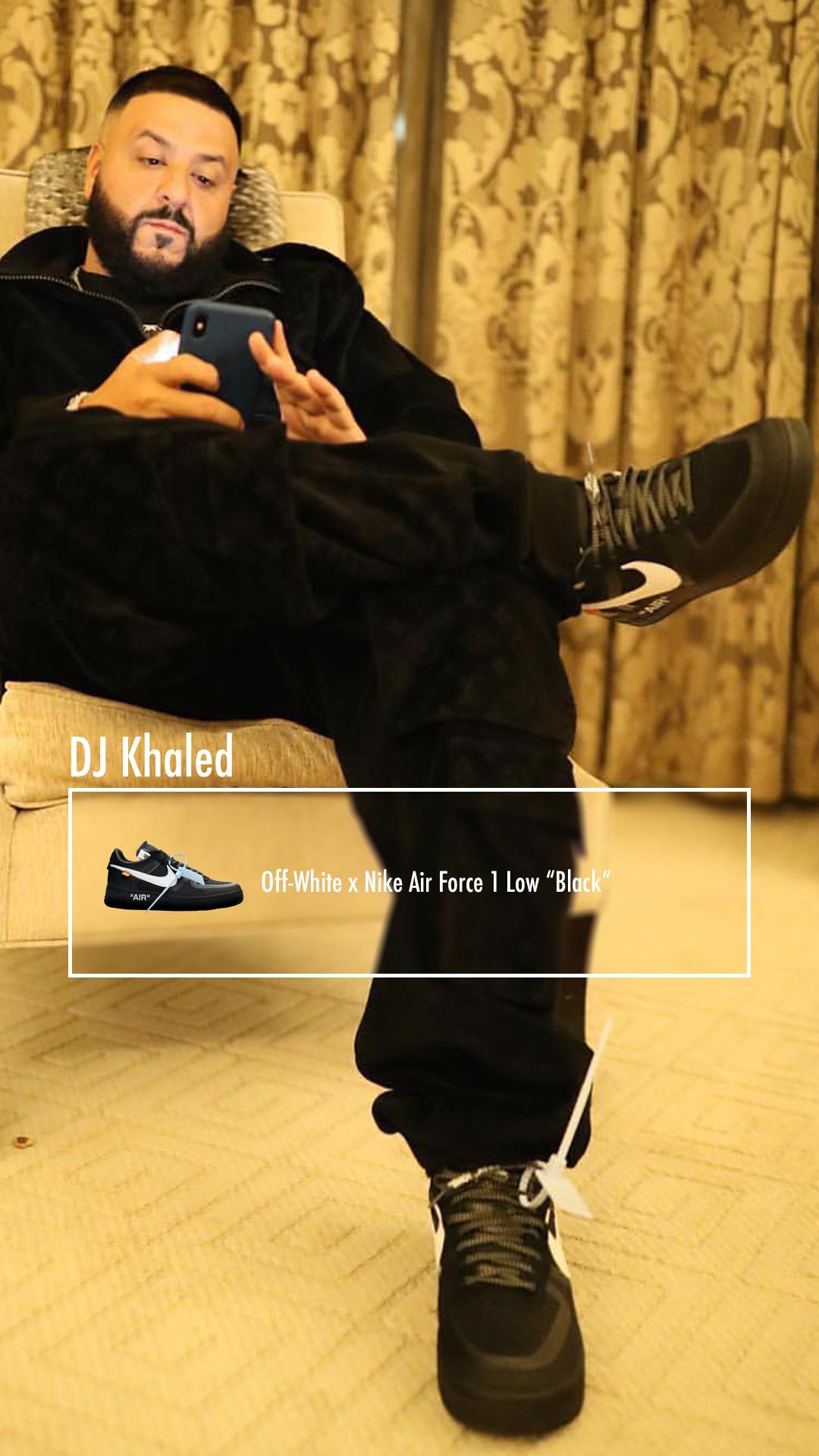 DJ Khaled: Off-White x Nike Air Force 1