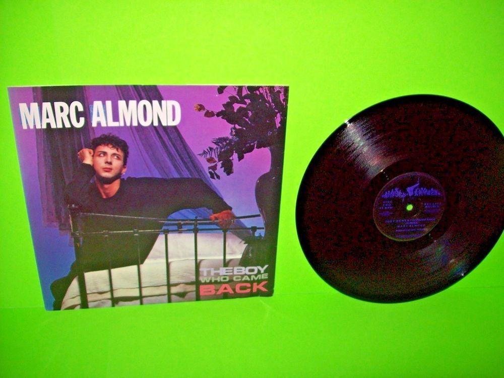 "Marc Almond – The Boy Who Came Back 1984 Vinyl 12"" EP Record SynthPop Pop Rock #1980sElectroSynthNewWavePopRock"