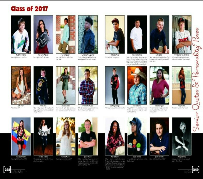 2017 Pasco High School Yearbook, Dade City, FL - Senior personality