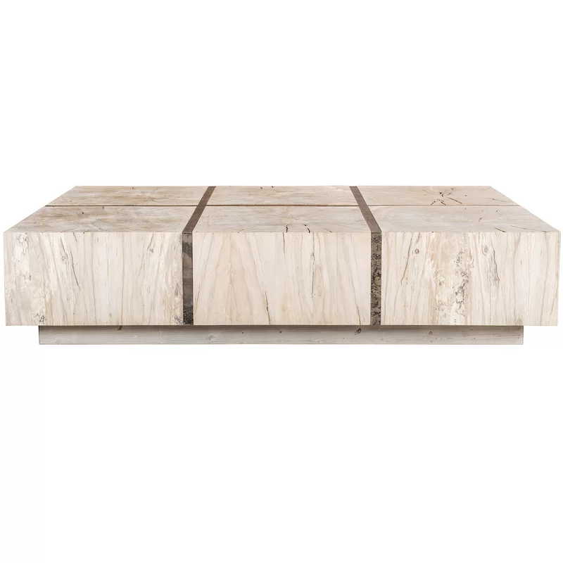 Tacto Solid Wood Block Coffee Table Coffee Table Coffee Table Furniture Luxury Coffee Table