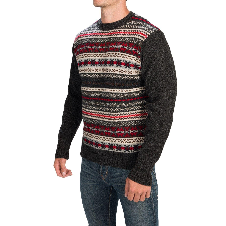 Shetland Fair Isle Sweater Her Sweater