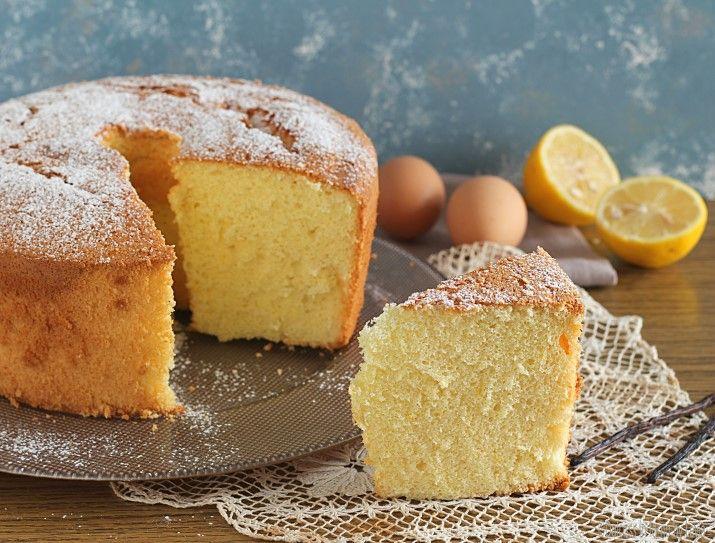 Ricetta Ciambella Senza Burro.Chiffon Cake O Ciambellone Americano Senza Burro Ricette