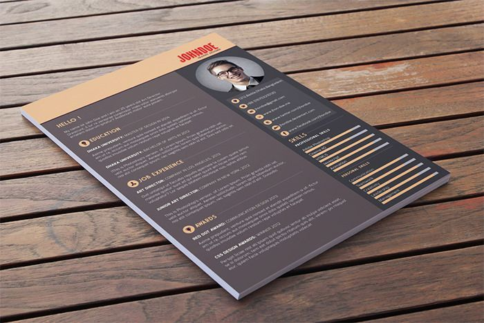 Free  Beautiful Resume Templates To Download  Resume