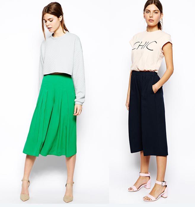 Culottes, falda pantalón