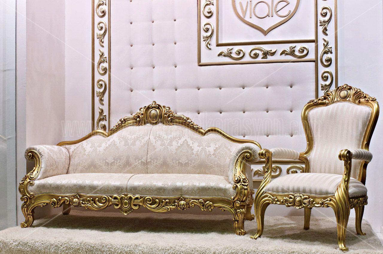 Proje Modeli Koltuk Takimi Klasik Oturma Odasi Jpg 1280 850 Royal Furniture Carved Sofa Bedroom Design
