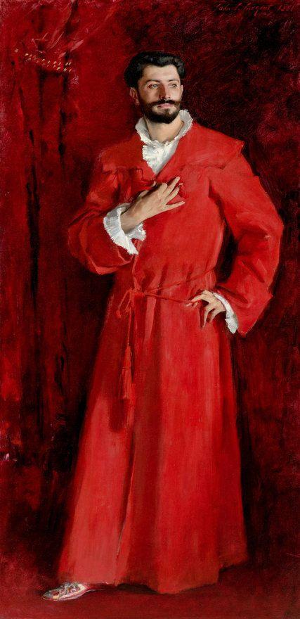John Singer Sargent, *Dr. Pozzi at Home* 1881 on ArtStack #john-singer-sargent #art