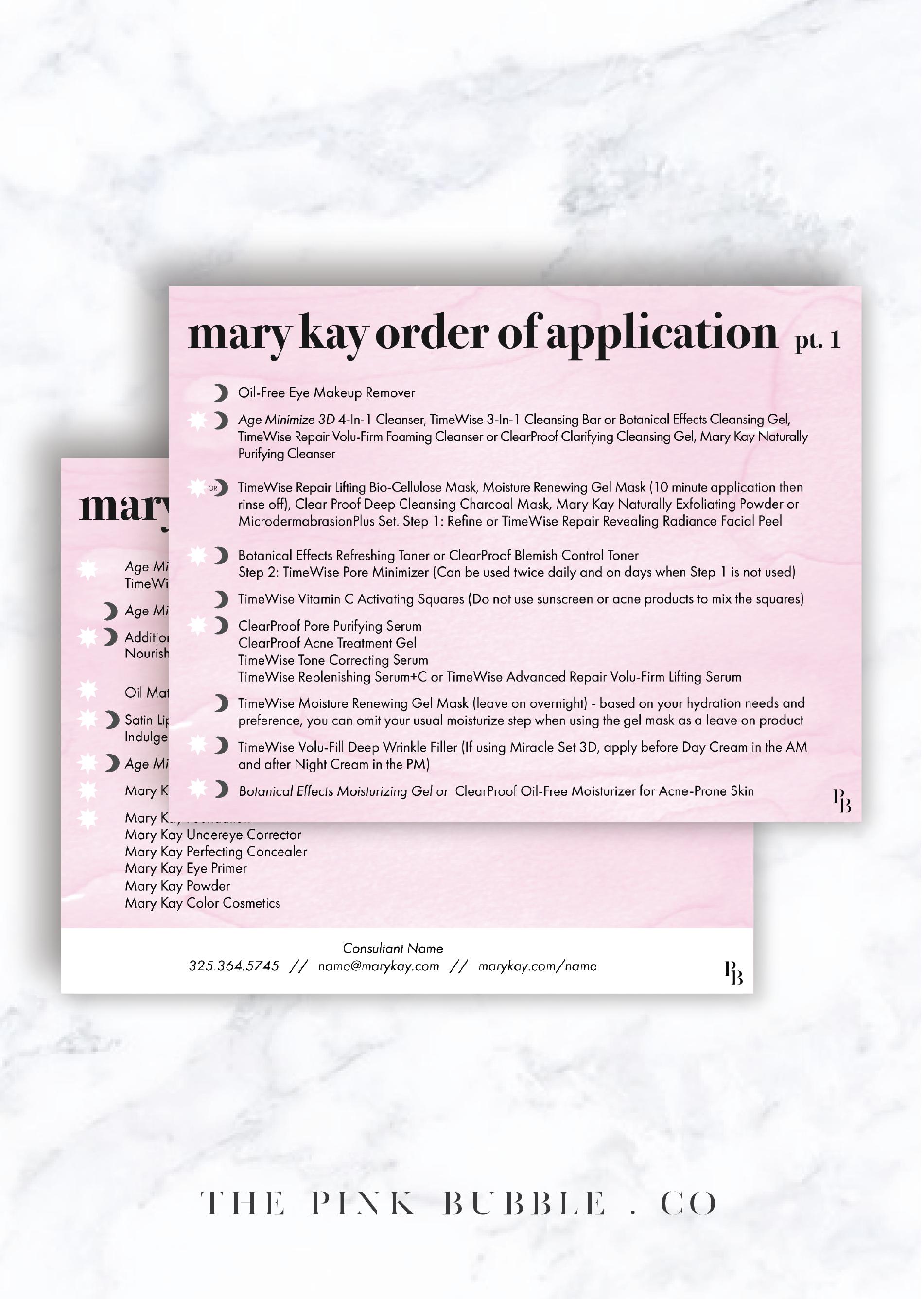 Mary Kay Order Of Application Postcard Mary Kay Mary Kay Customer Service Mary Kay Business