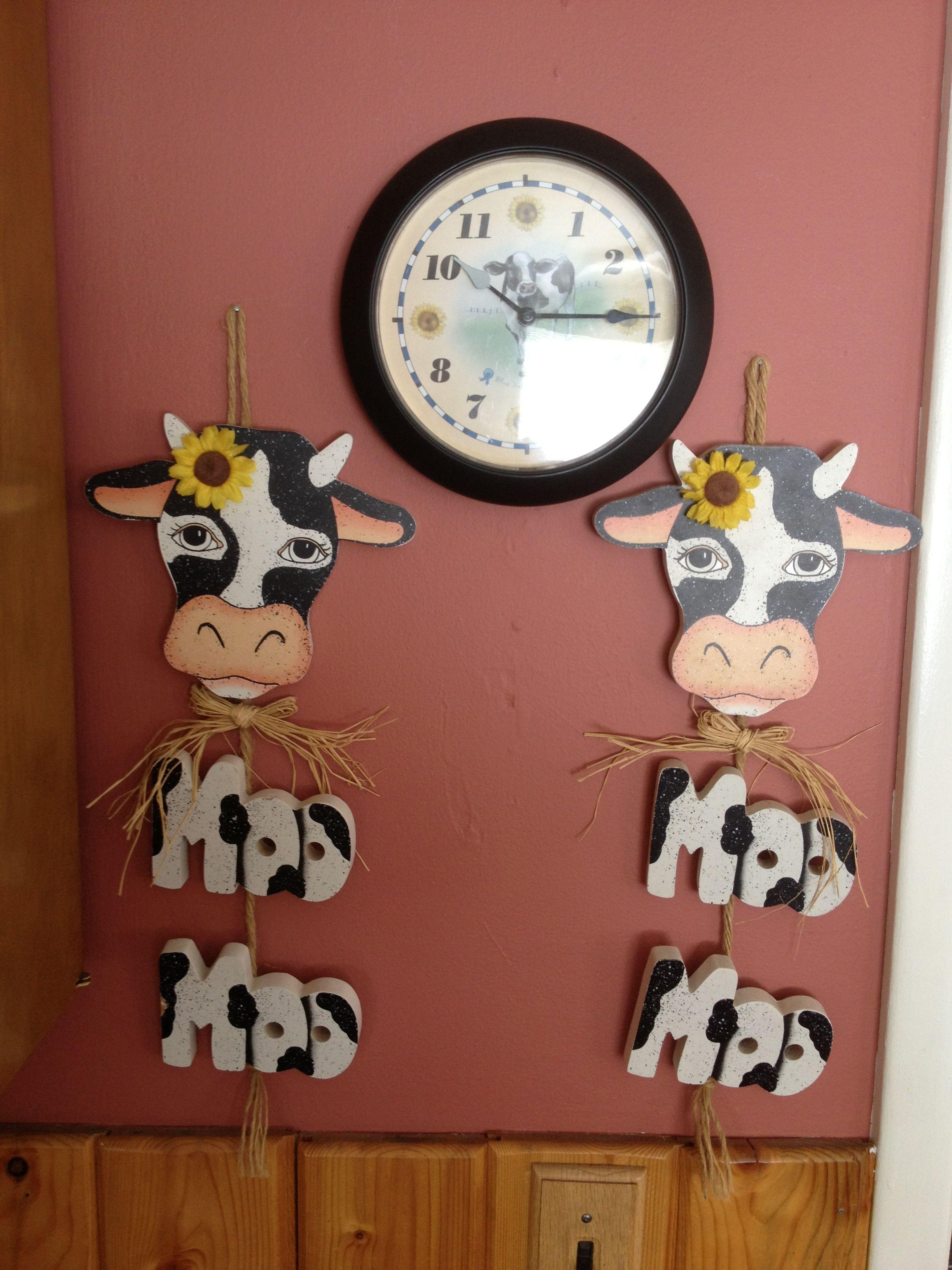 Cow Decor Cow Decor Cow Ornaments Cow Kitchen Theme