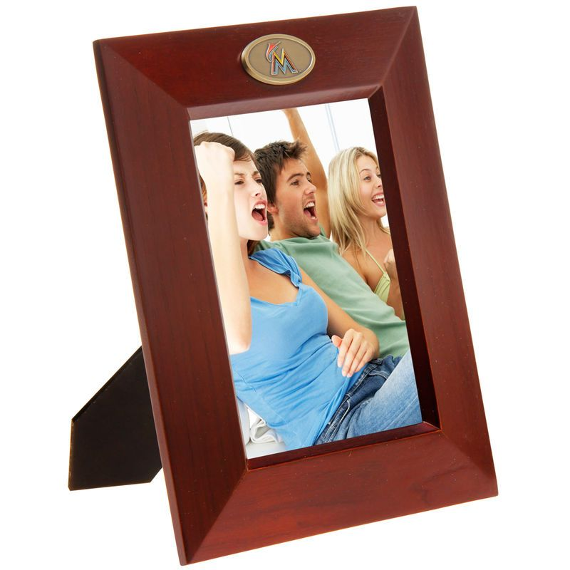 Miami Marlins 5 X 7 Vertical Picture Frame Miami Marlins Frames