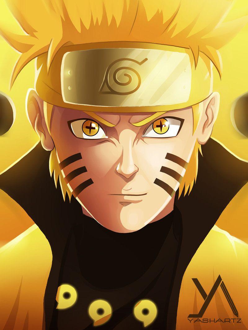 Artstation Naruto Six Paths Sage Mode Yash Shetye Naruto Uzumaki Art Naruto Sketch Wallpaper Naruto Shippuden