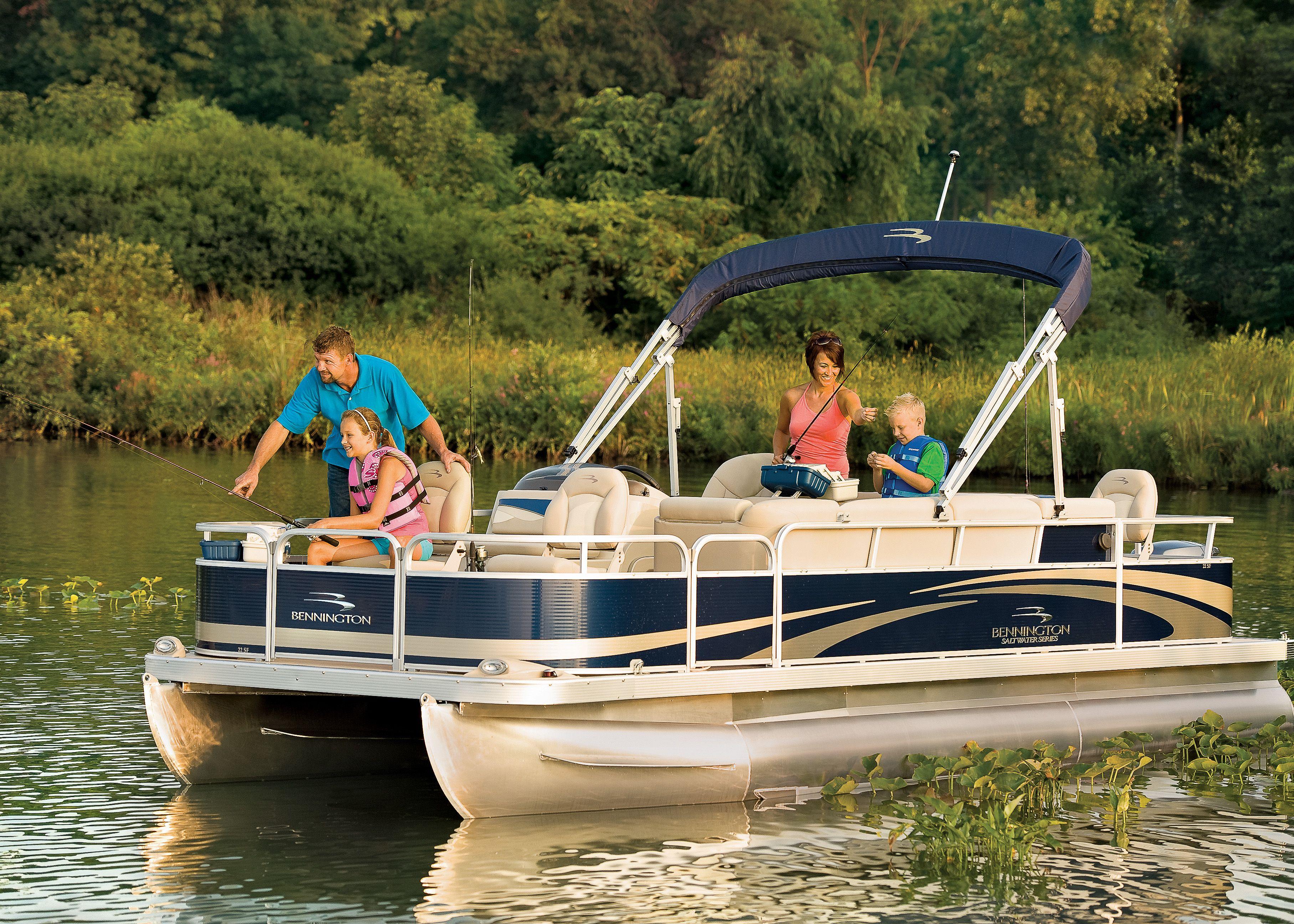 2012 bennington 22 sf pontoon boat great for fishing and for Fishing pontoon boats