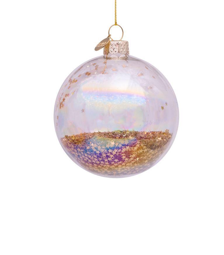 Homewares Christmas Decorations Harrods Transparent Star Filled Bauble Christmas Christmas Bulbs Harrods Christmas