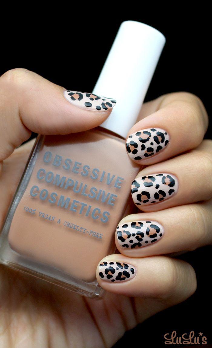 Mani Monday Leopard Print Nail Tutorial Lulus Com Fashion Blog Leopard Print Nails Leopard Print Nails Tutorial Cheetah Nail Designs