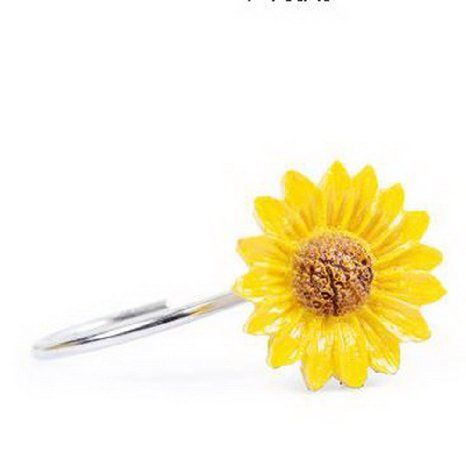 Buy Set Of 12 Stainless Steel Shower Curtain Hooks Sunflower Design Crooks In Cheap Price On Malibaba