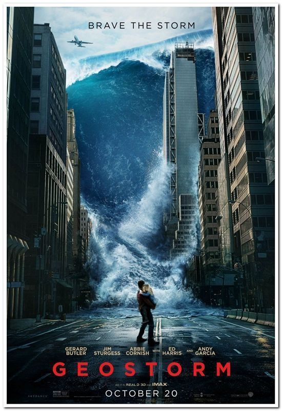 Details About Geostorm 2017 Original 27x40 Advance Style Movie