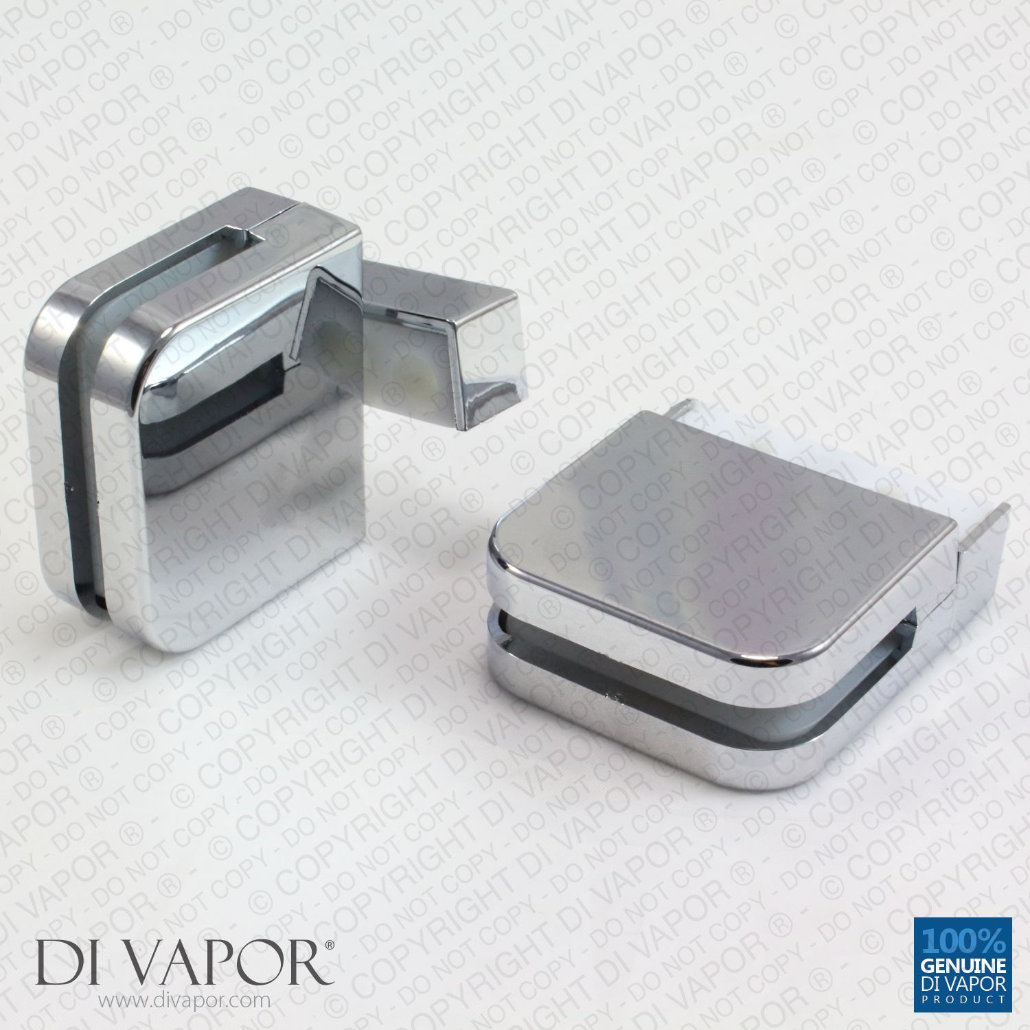 Plastic Glass Shower Door Pivot Hinge for 6mm Glass | Kinetika ...